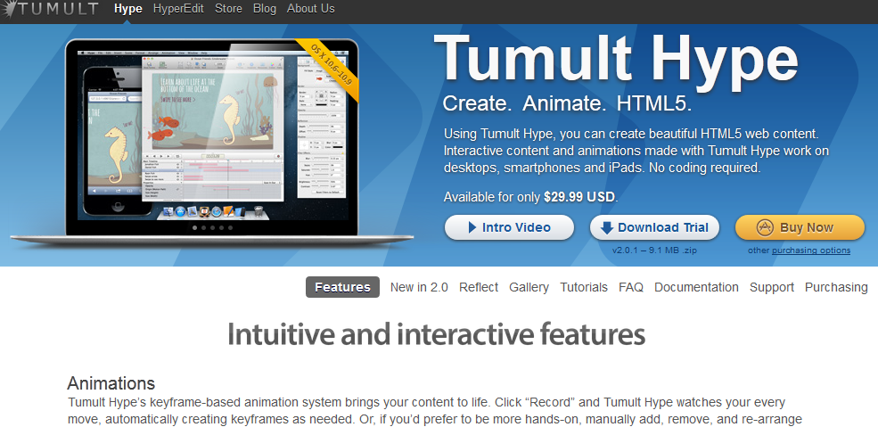 7 Excellent HTML5 Animation Tools for 2014