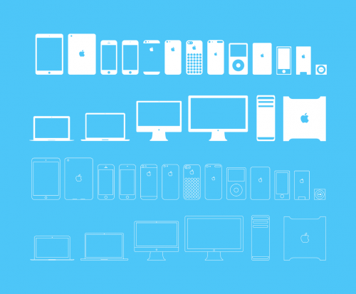 Cool Free Apple Devices Icons