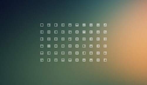 Free Download Layout Icons
