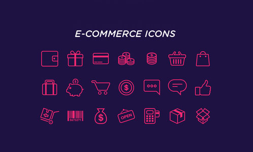 eCommerce Icons Freebie
