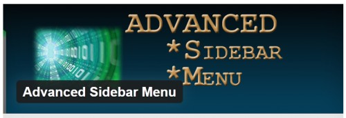Advanced Sidebar Menu