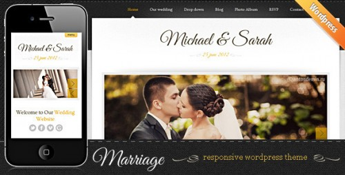 Marriage - Responsive WordPress Premium Theme