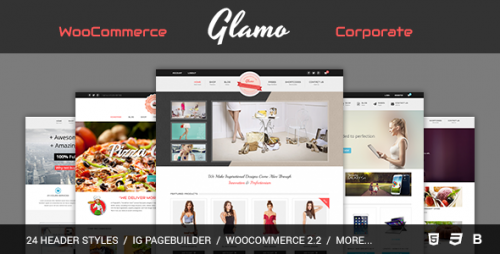 Glamo - Responsive WordPress Ecommerce Theme