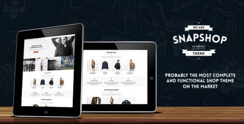 Snapshop - Responsive WooCommerce WordPress Theme