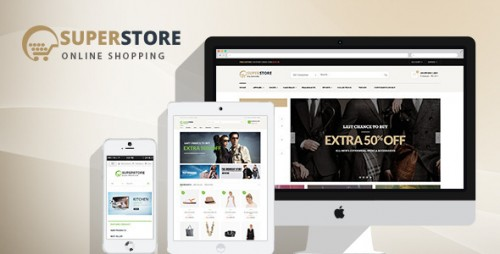 SuperStore - Woocommerce WordPress Theme