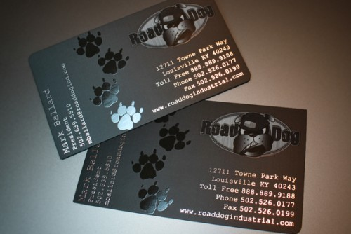 Road-Dog-Industrial Business Cards