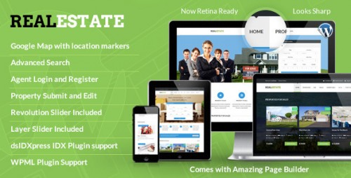 RealEstate - Responsive Real Estate Theme
