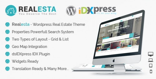 Realesta - WordPress Real Estate Theme