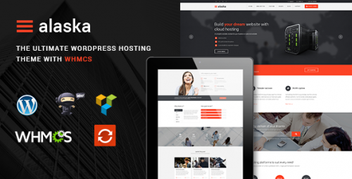 Alaska - SEO WHMCS Hosting, Shop, Business Theme