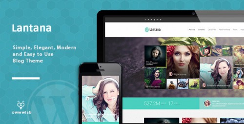 Lantana - Responsive Blog WordPress Theme