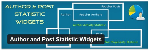 Author and Post Statistic Widgets