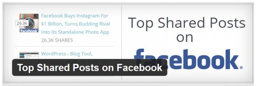 Top Shared Posts on Facebook