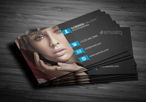 A List Of Exceptional Photography Business Card Templates - Photography business cards templates free