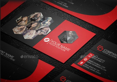 Creative And Photography Business Card Template