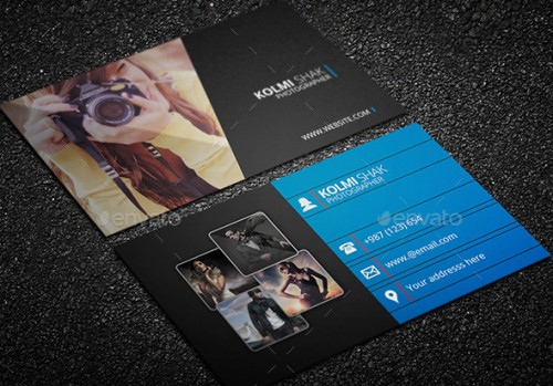Photo Business Cards Templates Free