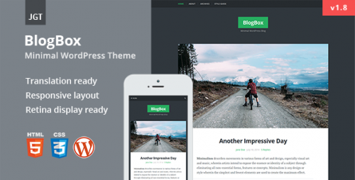 BlogBox - Responsive & Bold WordPress Theme