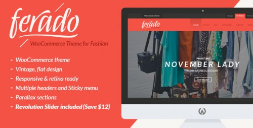 Ferado - WooCommerce Fashion Theme