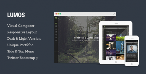 Lumos - Multipurpose and Multi-page WP Theme