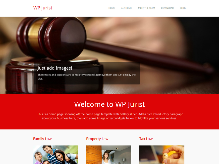 10 Exclusive Free Law Firm WordPress Themes 2015