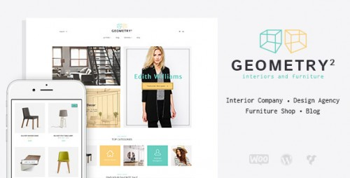 Geometry - Interior Design & Furniture Shop Theme