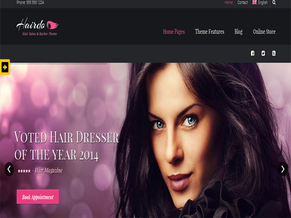 19 Best Beauty Salon WordPress Themes 2016